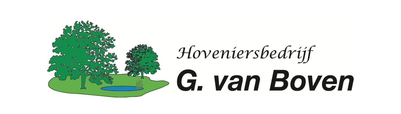 Hoveniersbedrijf G. van Boven